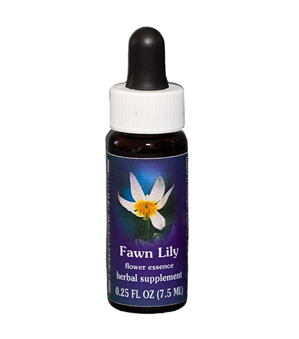 fawn lily, fes flower essence