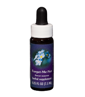 forget me not, fes flower essence