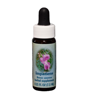 impatiens, healing herbs, flower essence