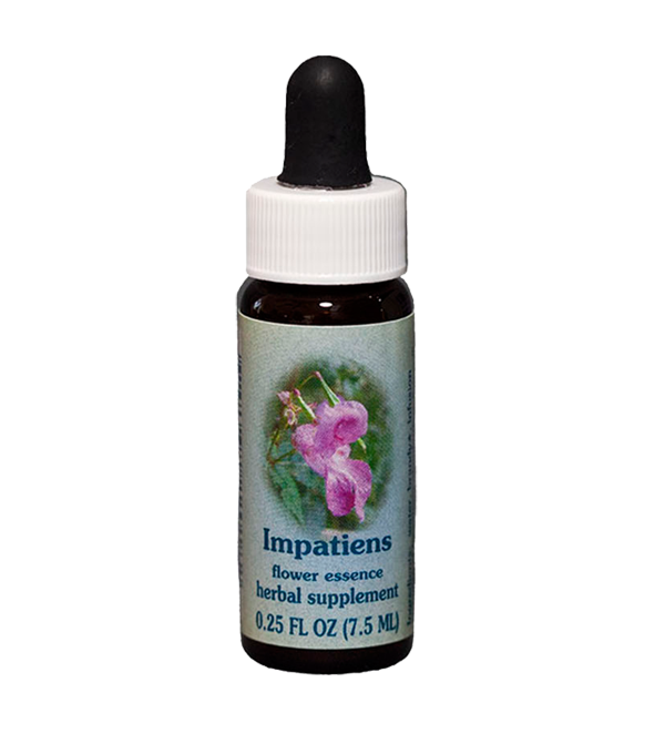 impatiens, healing herbs, flower essence