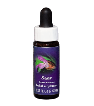 sage, fes flower essence