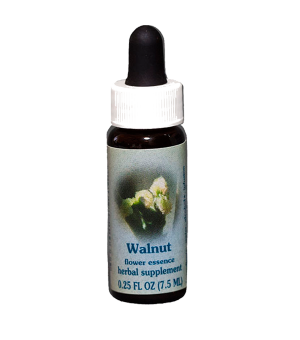 walnut, healing herbs flower essences